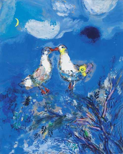 Chagall et les Fables