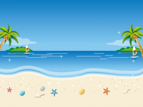 dessin-plage-ete-550x412